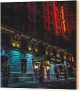 Hotel Metro, Nyc Wood Print