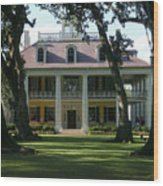 Houmas House Plantation Wood Print