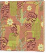 Hour At The Tiki Room Wood Print
