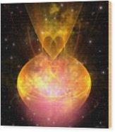 Hourglass Nebula Wood Print