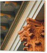 House Column Wood Print