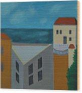 House In Jaffa  Wood Print