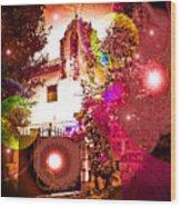House Of Magic Wood Print