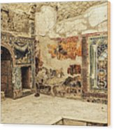 House Of Neptune Wood Print