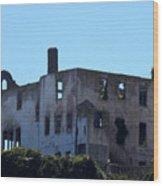 House Of The President Of Alcatraz. Wood Print
