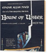House Of Usher, Aka The Fall Of The Wood Print by Everett