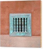 House Of Zuni Wood Print