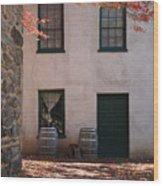 House Off Of Potomac St. Wood Print