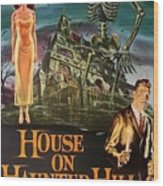 House On Haunted Hill 1958 Wood Print