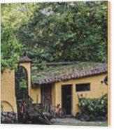 House Suchitoto Wood Print