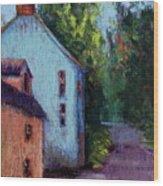 Houses In  Ireland Wood Print