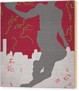 Houston Rockets Wood Print