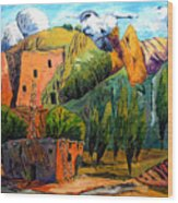 Hovenweep The Penthouse  Wood Print