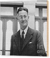 Howard Florey, Pathologist, Nobel Wood Print