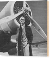 Howard Hughes, Us Aviation Pioneer Wood Print