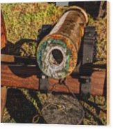 Howitzer Battle Of Honey Springs Wood Print