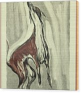 Howling For Joy Wood Print