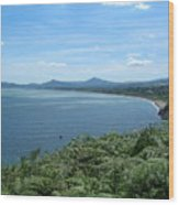 Howth Bay Wood Print