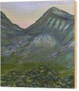 Huachuca Moutians Wood Print