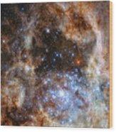 Hubble Finds Massive Stars Wood Print