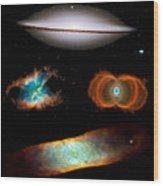 Hubble Greatest Hits Wood Print