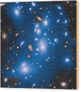 Hubble Sees Ghost Light From Dead Galaxies Wood Print