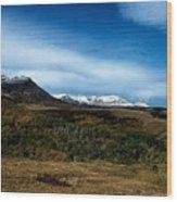 Hudson Bay Divide Wood Print
