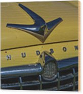 Hudson Hood Ornament And Logo Wood Print