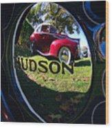 Hudson Reflections Wood Print