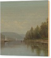 Hudson River Wood Print