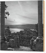 Hudson River Views Wood Print