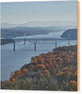 Hudson Valley Wood Print