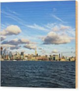 Hudson Waterfront Wood Print