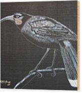 Huia Wood Print