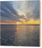 Hull Sunrise In March  Wood Print