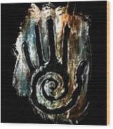 Humanity Native Symbol Wood Print