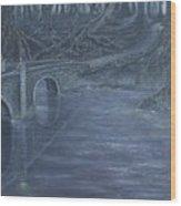 Humble Creek  Wood Print