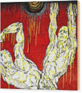 Humility Holds On Flesh Releases Wood Print