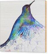 Hummingbird 11 Wood Print