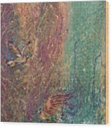 Hummingbird Dream Wood Print