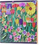Hummingbird's Delight By Mary Ellen Palmeri Wood Print