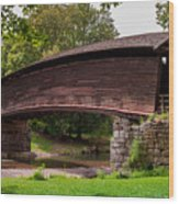 Humpback Bridge Wood Print