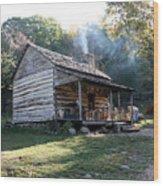 Humpbackrock Rocks Farmstead Wood Print