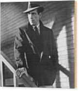 Humphrey Bogart Stairs The Maltese Facon 1941  Wood Print
