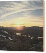 Humphreys Basin Sunset Wood Print