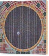 Hundertwasser Shuttle Window Wood Print