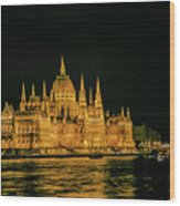 Hungarian Parliament  Wood Print