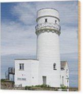 Hunstanton Lighthouse Wood Print