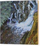 Hunt Falls Wood Print