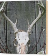Hunters Wreath Wood Print